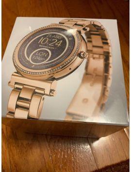 Michael Kors Access Gold Ladies Sofie Steel Smart Watch Mkt5021 Touchscreen New by Michael Kors