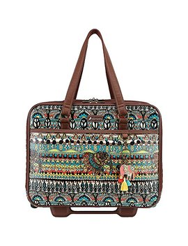 Sakroots Women's Artist Circle Mobile Tote, Natural One World by Sakroots