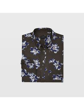 Slim Floating Floral Shirt by Club Monaco