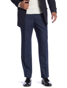 "New Heathrow Modern Fit Bi Stretch Pants   30 34"" Inseam by Savile Row Co"