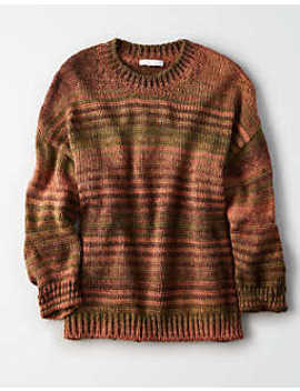 Don't Ask Why Oversized Crew Neck Sweater by American Eagle Outfitters