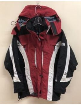Vintage The North Face Tri Climate Winter Jacket Size 8 Red Black by The North Face