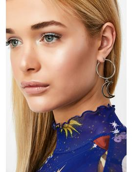 Star Signs Drop Earrings by Ciel