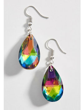 Moving Hues Glass Earrings by Modcloth