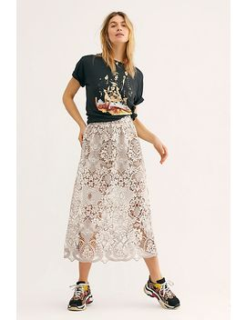 Bella Lace Skirt by Free People