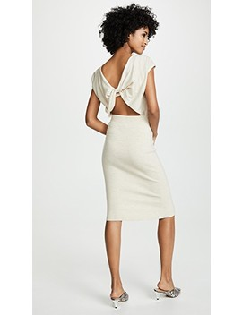 Shara Twisted Back Dress by Alice + Olivia