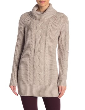 Knit Turtleneck Sweater by Romeo & Juliet Couture