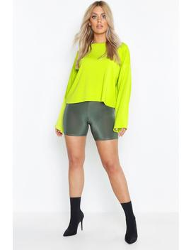 Plus Loopback Sweat Top by Boohoo