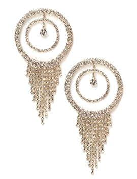 You Should Call Her Earrings   Gold by Fashion Nova
