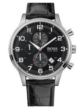 Leather Strap Chronograph Watch, 44mm by Boss