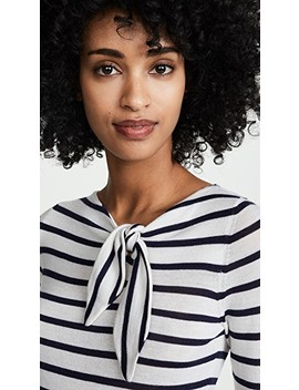 Knotted Maritime Stripe Top by Autumn Cashmere