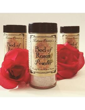 Bed Of Roses All Natural Body Dusting Powder by Etsy