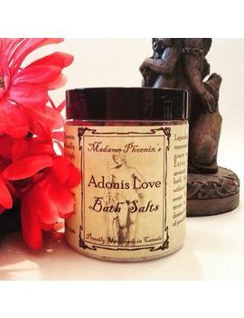Adonis Love Sensual Bath Salts by Etsy