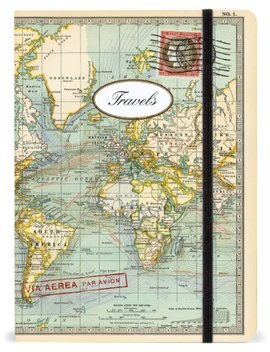 Cavallini Notebooks World Travels 6 X 8 by Cavallini & Co.
