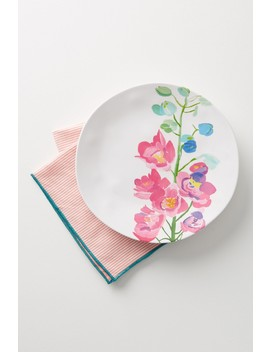 Paint + Petals Melamine Plate by Anthropologie