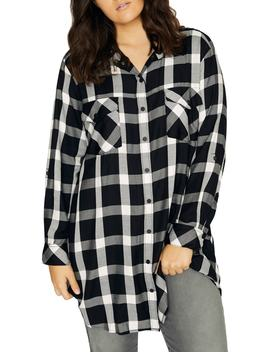 Main Street Boyfriend Tunic Top by Sanctuary