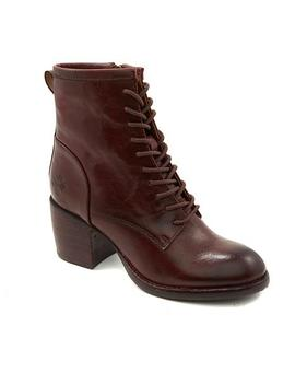 Patricia Nash Sicily Leather Lace Up Boot by Patricia Nash