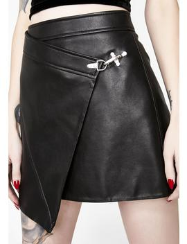 Latch On Wrap Skirt by Blank Nyc