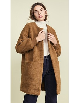 Frisee Sherpa Coat by Madewell