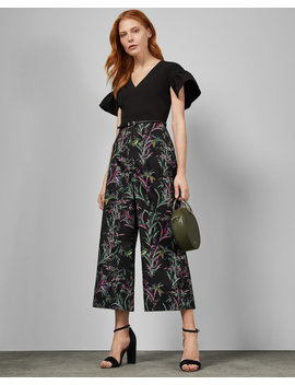 Fortune Culotte Jumpsuit by Ted Baker