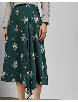 Flourish Asymmetric Skirt by Ted Baker