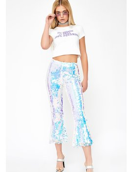 Goddess Realm Sequin Pants by Horoscopez