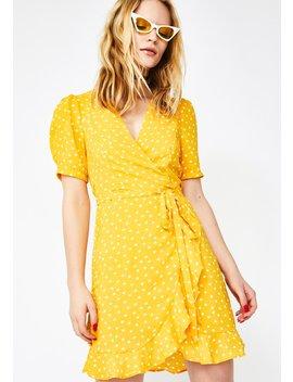 Honey Fairy Affair Wrap Dress by O Vianca