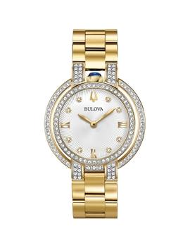 Ladies Bulova Rubaiyat Diamond Watch 98 R249 by Bulova
