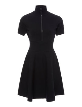 Rib Trim Dress by Victoria Victoria Beckham