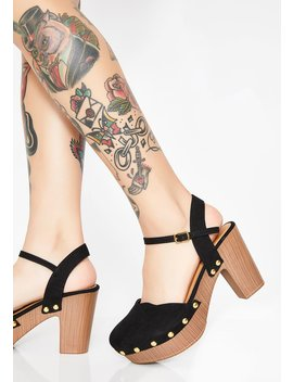 Dank Dreamin' Platform Heels by Qupid