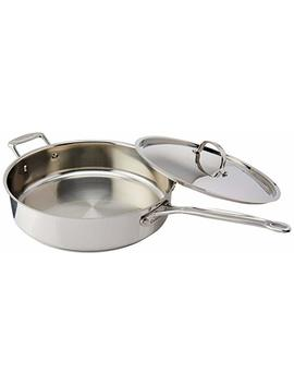 Cuisinart 733 30 H Chef's Classic Stainless 5 1/2 Quart Saute Pan With Helper Handle And Cover by Cuisinart