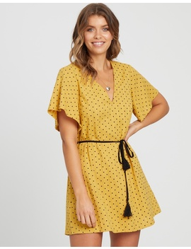 Iconic Exclusive   Lucy Cotton Shift Dress With Tassel by Atmos&Here