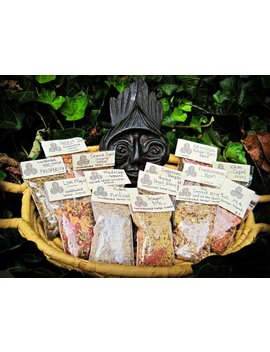Sumerian Temple Blend Handblended Loose Incense Herbs And Resins by Etsy