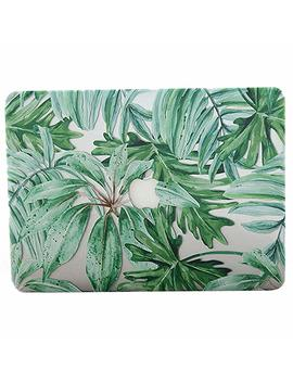 Mac Book Pro 13 Case 2018 2017 2016   Aqylq Plastic Hard Shell Cover A1706/A1708/A1989 With/Without Touch Bar Tropical Palm   Palm Leaves 2 by Aqylq