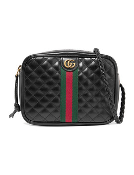 Mini Quilted Leather Shoulder Bag by Gucci