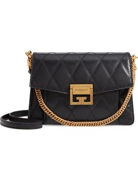 Small Gv3 Diamond Quilted Leather Crossbody Bag by Givenchy