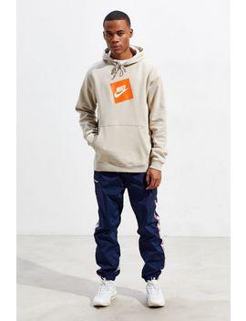 Nike Box Logo Hoodie Sweatshirt by Nike