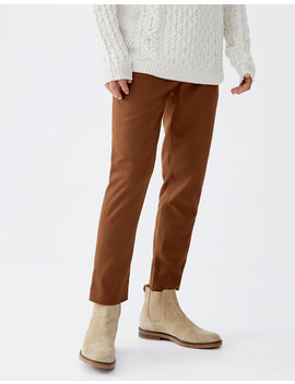 Calças Chino Tipo Tailoring by Pull & Bear