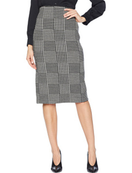 Glen Plaid Wool Pencil Skirt by Lauren Ralph Lauren