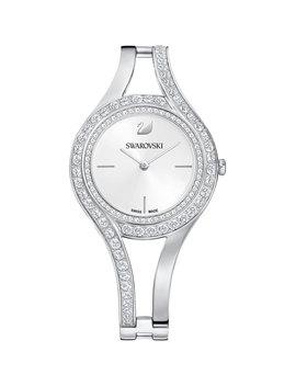 Eternal Watch, Metal Bracelet, White, Silver Tone by Swarovski