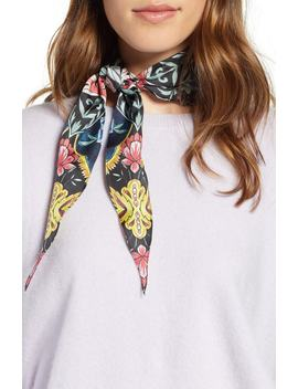 City Floral Diamond Scarf by Rebecca Minkoff