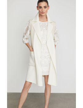 Camilla Long Wrap Vest by Bcbgmaxazria