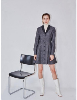 Lisbon Half Coat  Dress by And You