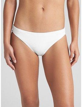 Ribbed Classic Bikini Bottom by Gap