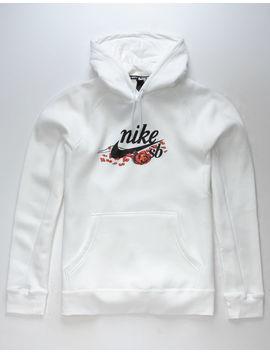 Nike Sb Roses White Mens Hoodie by Nike Sb