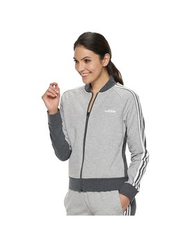 Women's Adidas Essentials Full Zip Bomber Jacket by Kohl's