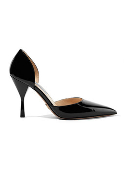 95 Patent Leather Pumps by Prada