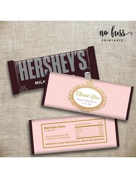 Princess Crown Candy Bar Label | Hershey Chocolate Wrappers | Editable | Printable | Instant Download by Etsy