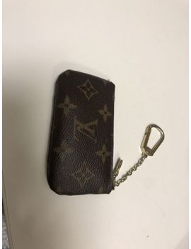 Authentic Louis Vuitton Monogram Key Pouch Cles M62650 by Louis Vuitton