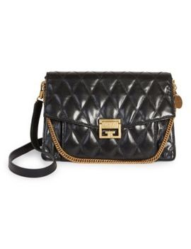 Medium Gv3 Quilted Leather Shoulder Bag by Givenchy